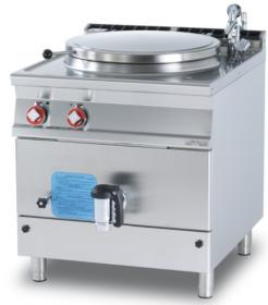 Marmita, 100 litri, incalzire indirecta, electrica, linia 900, PI100-98ET, LOTUS#1