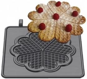 Placa de gatit waffe tip Inima mica, 32-40747, NEUMARKER#1