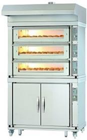 Statie de coacere cu 3 vetre pentru patiserie/brutarie, electrica, BS80/3, MANZ#1