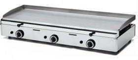 Plita inox 3 arzatoare gaz 783x395 mm SPG-801 SAMMIC#1