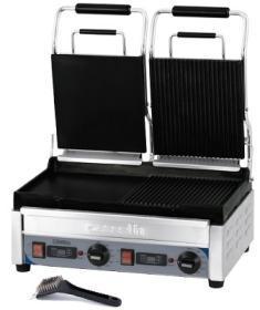 Contact grill, dublu, mixt, CGP2HRBLPT, CASSELIN#1