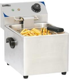Friteuza simpla, 4 litri, electrica, de banc, CFE4, CASSELIN#1