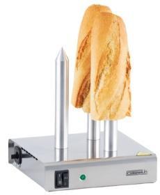Aparat incalzit paine hot dog, 3 tepuse, CCP3, CASSELIN#1