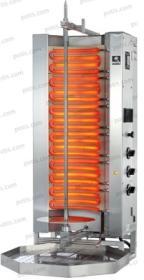 Aparat kebab/gyros, 4 elementi, electric, 50 kg, MU E3-S, POTIS#1