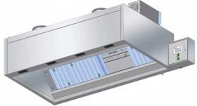 Hota de perete 2000x900x550 cu sistem de filtrare UV GORT#1
