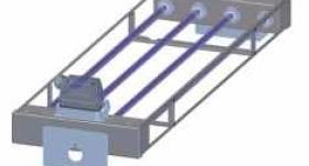 Hota de perete 2000x900x550 cu sistem de filtrare UV GORT#2