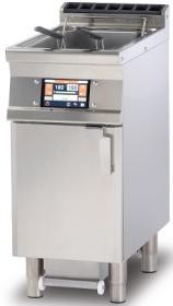 Friteuza electrica cu sistem de filtrare automat al uleiului, 18 litri, F18-74ETDP, LOTUS#1