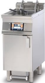Friteuza electrica cu sistem de filtrare automat al uleiului, 18 litri si lift F18-74ETDPS LOTUS#1