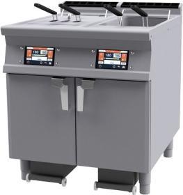 Friteuza electrica cu sistem de filtrare automat al uleiului, dubla, 36 litri, F2/18-78ETDP, LOTUS#1