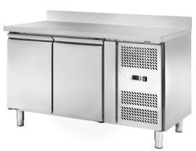 Masa frigorifica refrigerare cu 2 usi si rebord, latime 600, MRR2204#1