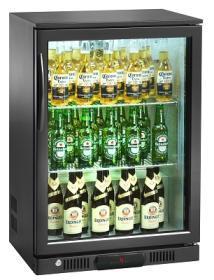 Back bar bauturi 126 litri, usi batante, BB100#1