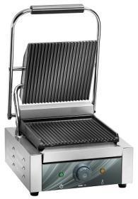 Contact grill, simplu, baza striata, L225, CG25R#1