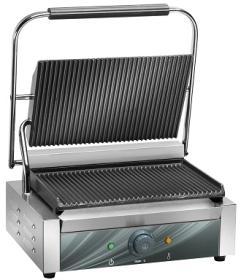 Contact grill, simplu, baza striata, L340, CG35R#1