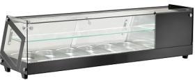 Vitrina refrigerare, tapas, top, 6 GN, VRTT613VTB#1