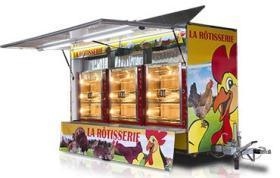 Rulota Fast Food lungime utila 10 m, HEAVY TRAILERS LINE, AUTONEGOZI#1
