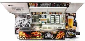 Autorulota Fast Food lungime utila 6 m, SPAIN LINE, AUTONEGOZI#1