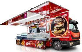 Autorulota Fast Food lungime utila 7.72 m, AMERICA LINE, AUTONEGOZI#1