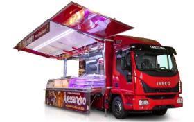 Autorulota Fast Food lungime utila 7.72 m, AMERICA LINE, AUTONEGOZI#5
