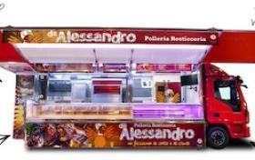 Autorulota Fast Food lungime utila 7.72 m, AMERICA LINE, AUTONEGOZI#8