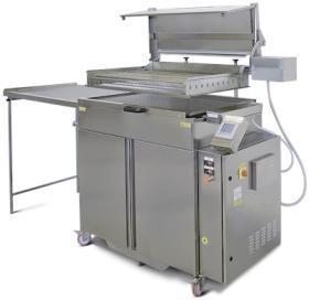 Friteuza gogosi electrica, automata, 67 litri cu dospitor si carut, FRY60AC AUTOMATIC, MAC.PAN#1