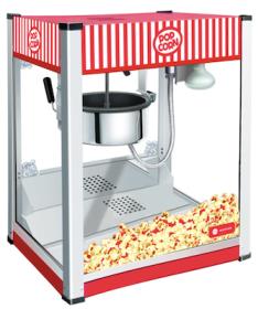 Aparat popcorn de banc, HKN-PCORN, HURAKAN#1