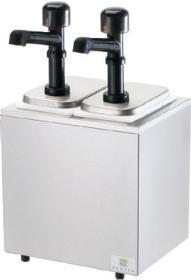 Dispenser sos 2 pompe policarbonat, neutru, SR-2 79850, SERVER#1