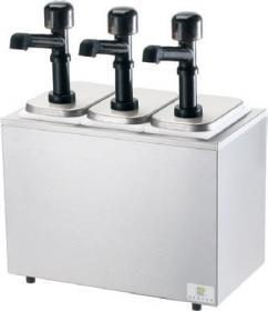 Dispenser sos 3 pompe policarbonat, neutru, SR-3 79860, SERVER#1