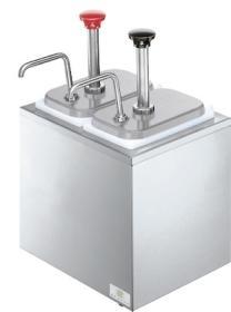 Dispenser sos 2 pompe otel inox, refrigerat, SB-2 79890 + 2 x 94141, SERVER#1