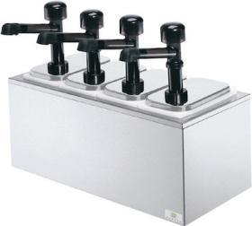 Dispenser sos 4 pompe policarbonat, refrigerat, SB-4 79830 + 4 x 94141, SERVER#1