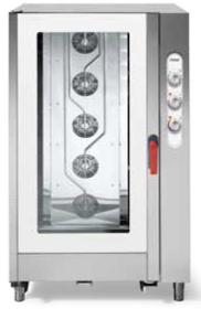 Cuptor gastronomic, injectie abur direct, 20 tavi GN 1/1, electric, SGE 2011 SVR.1B, MEC#1