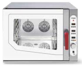 Cuptor gastronomic, injectie abur direct, 5 tavi GN 1/1, electric, SGE 511 DSVR.1B, MEC#1