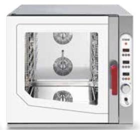 Cuptor gastronomic, injectie abur direct, 7 tavi GN 1/1, electric, SGE 711 DSVR.1B, MEC#1