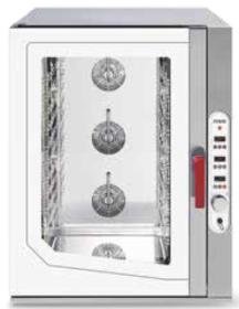 Cuptor gastronomic, injectie abur direct, 12 tavi GN 1/1, electric, SGE 1211 DSVR.1B, MEC#1