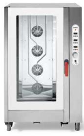 Cuptor gastronomic, injectie abur direct, 20 tavi GN 1/1, electric, SGE 2011 DSVR.1B*, MEC#1