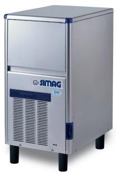 Masina cuburi gheata tip glont 36 kg, racire pe apa, SDE40 SIMAG
