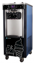 Masina de inghetata, soft ice-cream cu 3 manete si pompa de aer+suport, HKN-BQ66FPS, HURAKAN