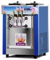 Masina de inghetata, soft ice-cream cu 3 manete si pompa de aer, top, HKN-BQ58P, HURAKAN