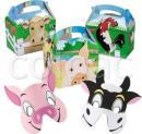 Pachete petreceri copii - Colour-in 'Farm' kit 03PACK32 COLPAC