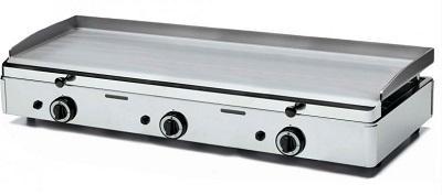 Plita inox 3 arzatoare gaz 783x395 mm SPG-801 SAMMIC