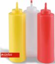 Sticla dispenser, rosie, 360 ml, P868002, PUJADAS