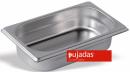 Vascheta gastronorm inox, GN 1/4, INOX PRO, P140201, PUJADAS