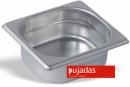 Vascheta gastronorm inox, GN 1/6, INOX PRO, P162001, PUJADAS