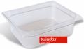 Vascheta policarbonat transparent, GN 1/2, P1215BF, PUJADAS