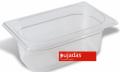 Vascheta policarbonat transparent, GN 1/4, P1410BF, PUJADAS