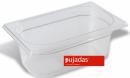 Vascheta policarbonat transparent, GN 1/4, P1415BF, PUJADAS
