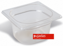 Vascheta policarbonat transparent, GN 1/6, P1606BF, PUJADAS