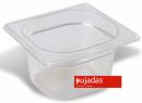Vascheta policarbonat transparent, GN 1/6, P1610BF, PUJADAS